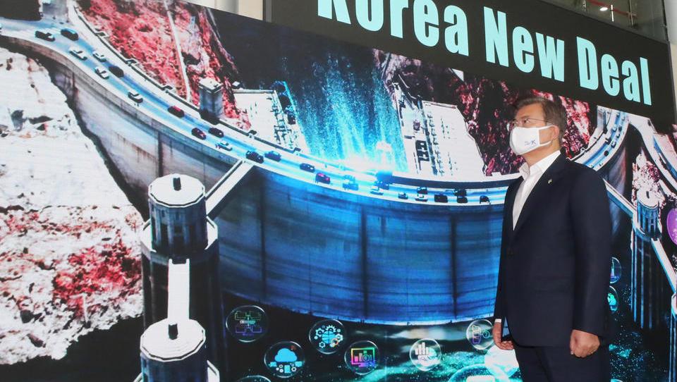 Südkorea kündigt Bau des weltgrößten schwimmenden Windparks an