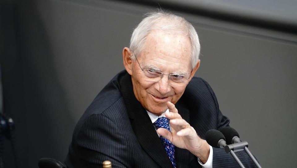 Wolfgang Schäuble attackiert Querdenker