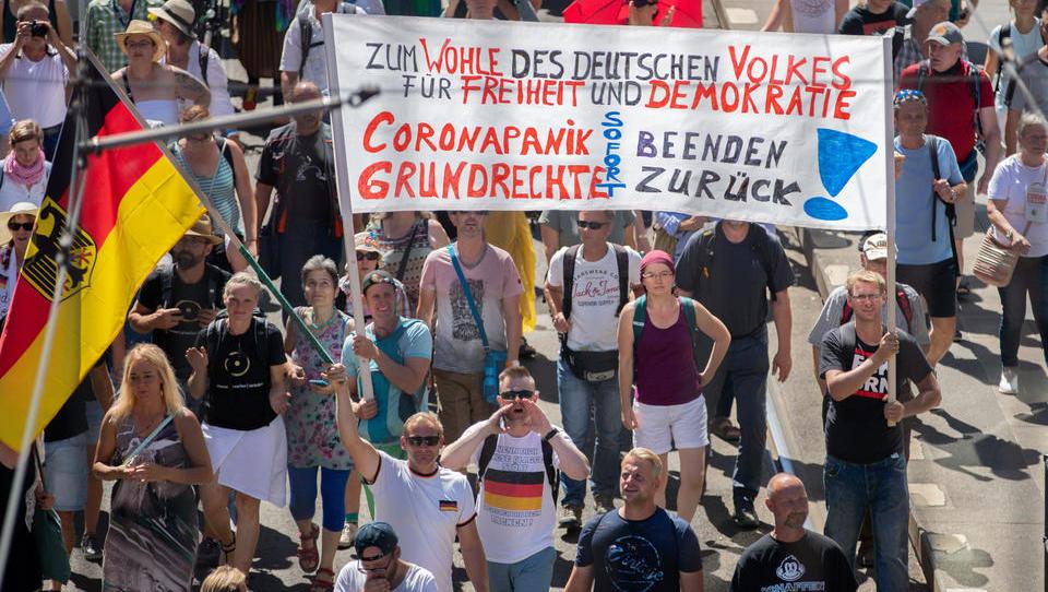 Berliner Polizei verbietet zwölf Corona-Demos am Wochenende – das ist die Liste