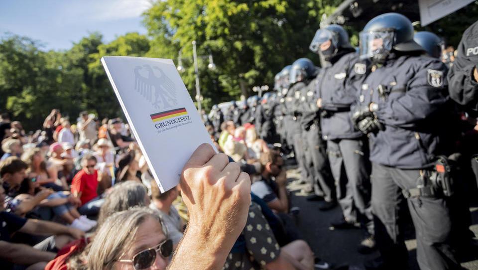 Anzahl der verbotenen Demos in Berlin steigt auf 13 – das ist die Liste
