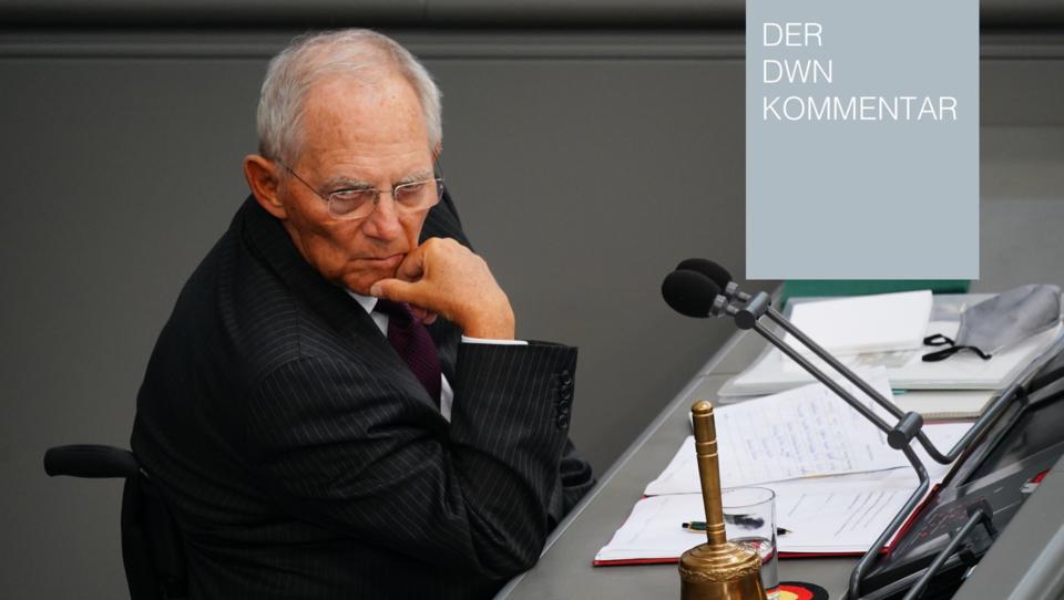 Wird der Lockdown bis Ende März 2022 andauern? Und was wusste Schäuble?