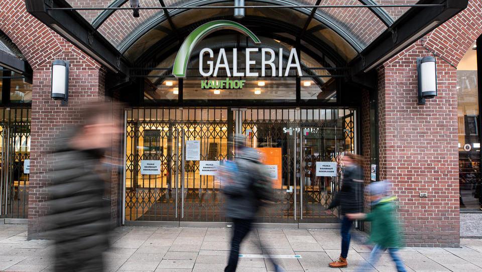 Warenhausriese Galeria warnt vor neuem Lockdown für Einzelhandel