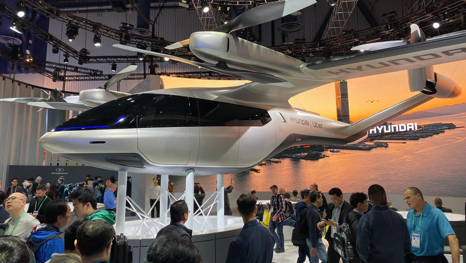 Hyundai baut Airport für Flugautos und Lufttaxis