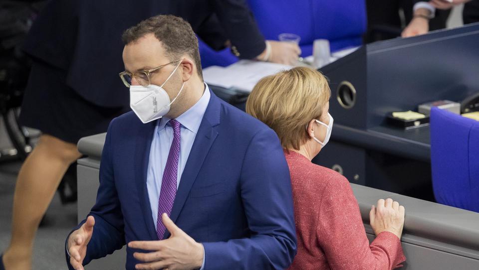Merkel will Lockdown bis Ostern aufrechterhalten