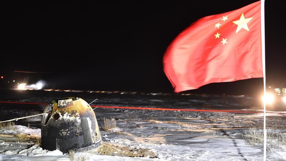 Aufstieg zur Raumfahrer-Nation: China holt erfolgreich Gesteinsproben vom Mond