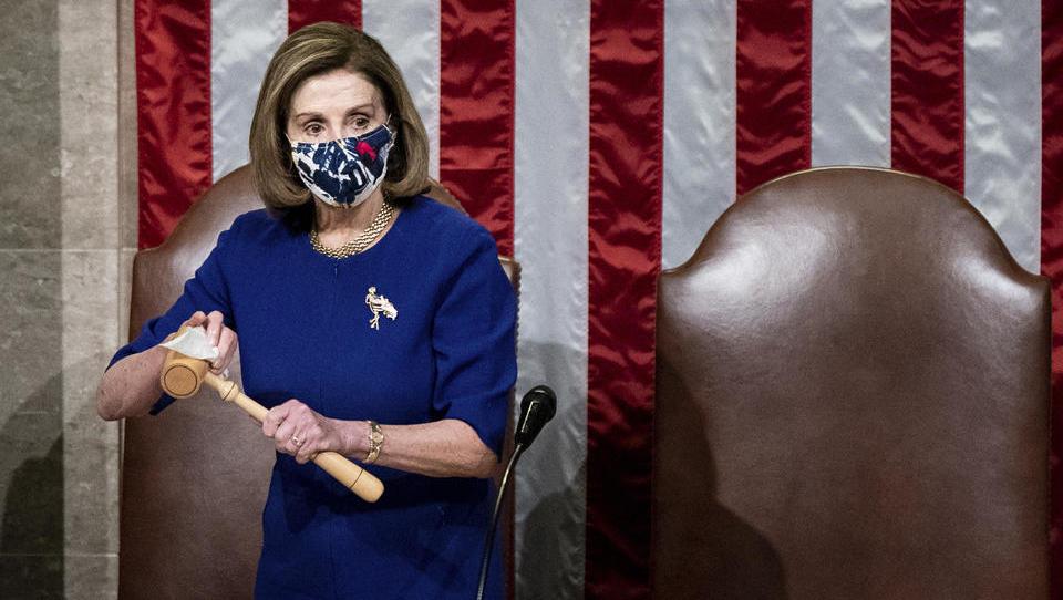 """""""Nancy Antoinette"""", """"Crazy Nancy"""": Wie Trump sich Nancy Pelosi zur Erzfeindin machte"""