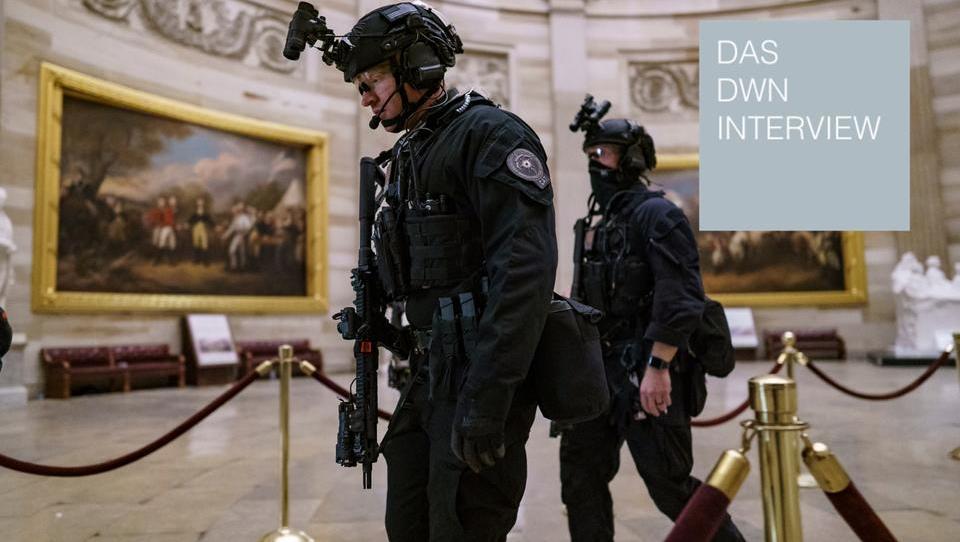 DWN-Interview mit dem ehemaligen Leiter der US-Senats-Polizei: