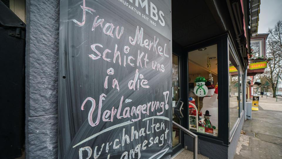 Will Angela Merkel den totalen Lockdown?