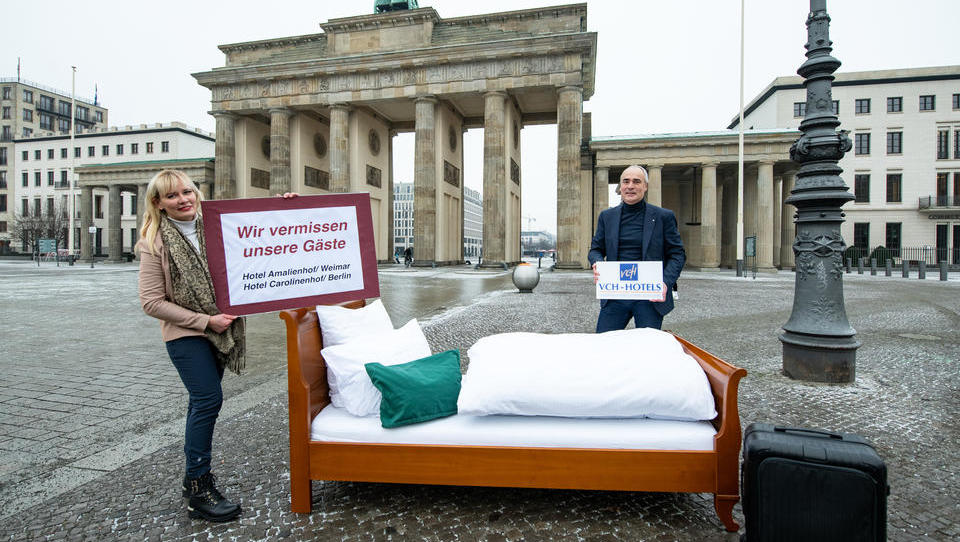 Tourismus: Zahl der Übernachtungen in Deutschland bricht um 39 Prozent ein