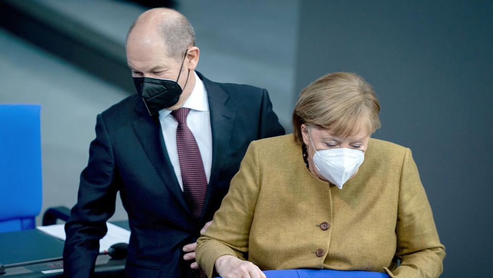 Finanzminister Scholz macht deutlich: Dürfen vom Corona-Kurs nicht zu früh abbiegen
