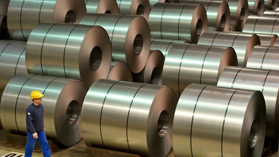 Stahl-Produktion in Deutschland geht massiv zurück