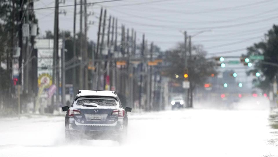 Windräder frieren ein: Millionen von massiven Stromausfällen im US-Bundesstaat Texas betroffen