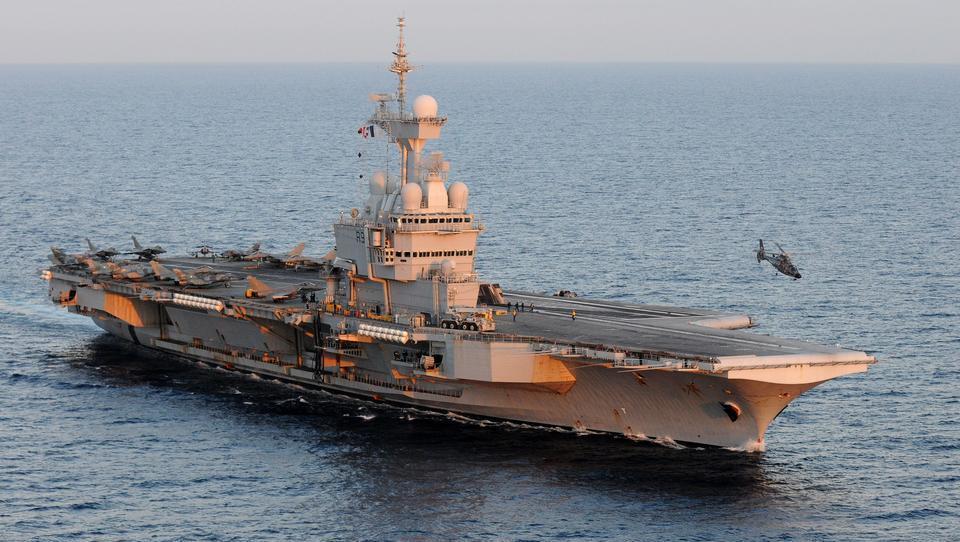 Erdgas-Streit mit der Türkei: Frankreich entsendet Flugzeugträger nach Zypern