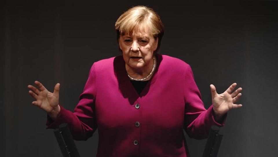 """Merkel im Alarm-Modus: """"Das Virus verzeiht keine Halbherzigkeiten"""""""