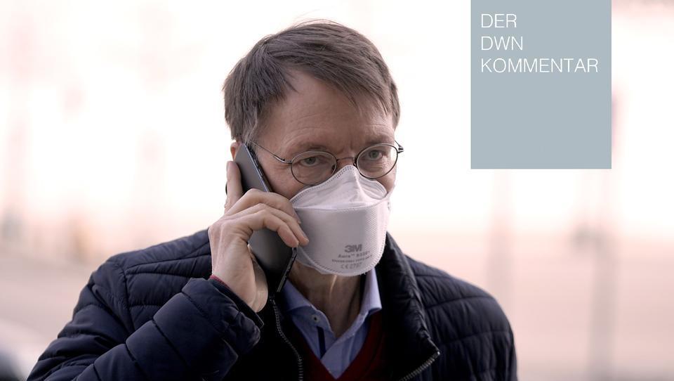 Bundestagswahl: Karl Lauterbach stellt Hans-Georg Maaßen eine Falle