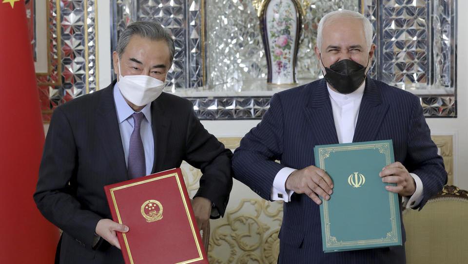 Iran schließt bahnbrechendes Wirtschafts- und Sicherheitsabkommen mit China ab