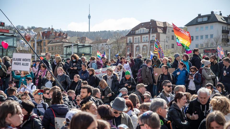 Neue Demo angemeldet: Stuttgart avanciert zum Hotspot der Kritik an den Lockdown-Maßnahmen