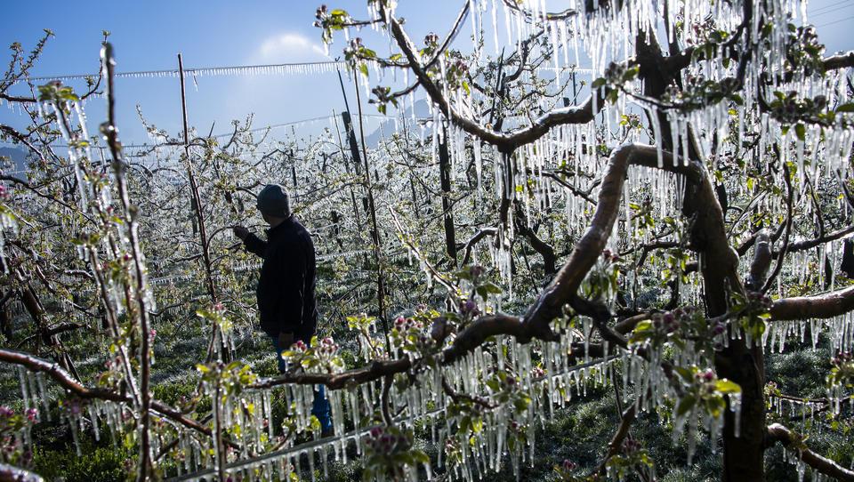 Europa erlebte den kältesten April seit 2003