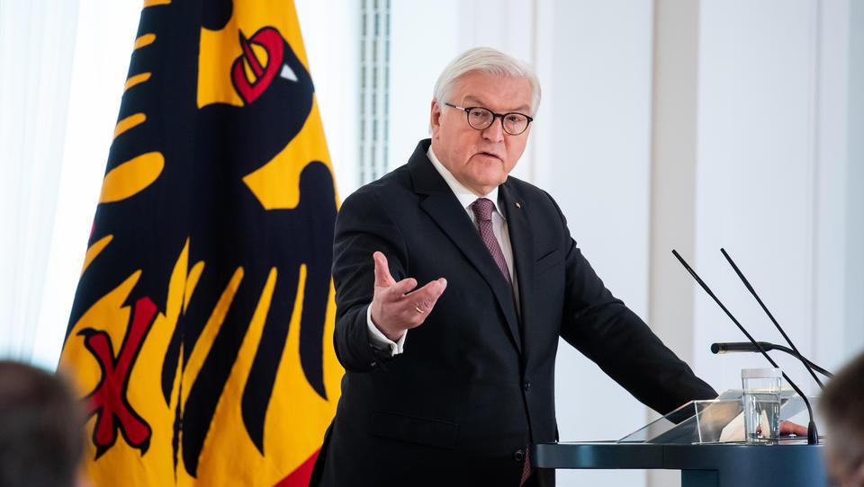 Das ist die Rede von Bundespräsident Steinmeier zum 76. Jahrestag des Kriegsendes