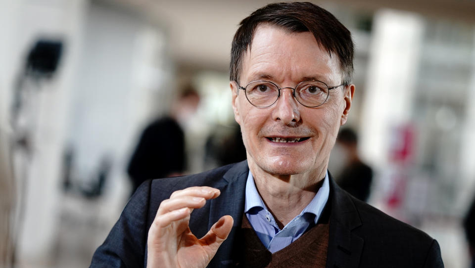 Umfrage: 35 Prozent der Deutschen wollen Lauterbach als Minister
