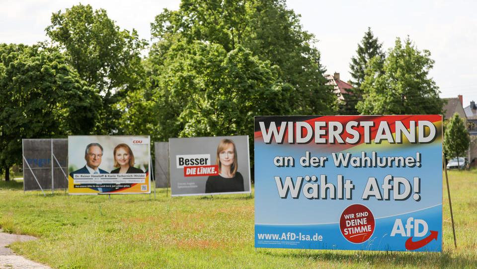 Sachsen-Anhalt: Heftiges Kopf-an-Kopf-Rennen zwischen AfD und CDU