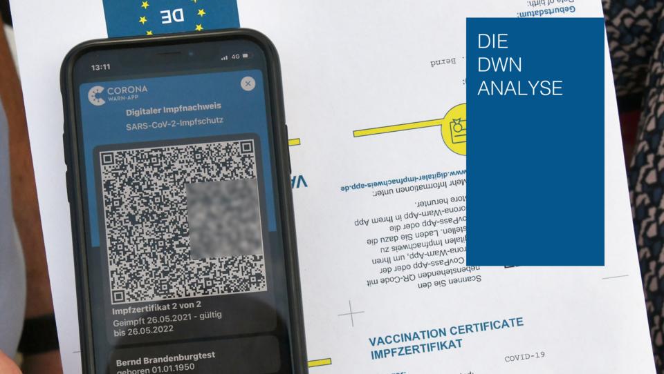 Digitale Impfpässe schaffen Grundlage für eine Gesellschaft ohne Bargeld