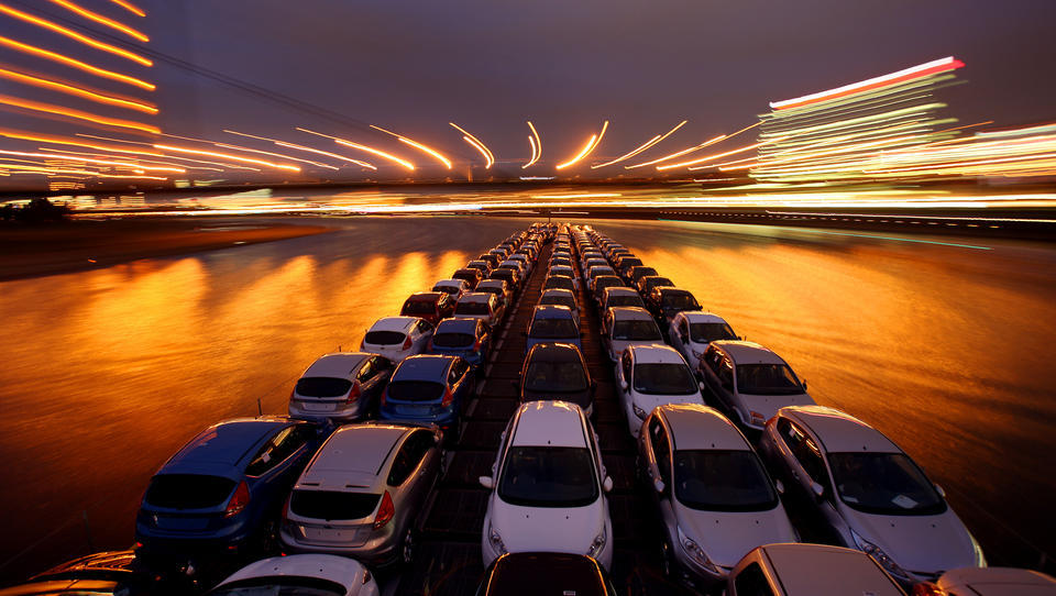 Westeuropas Automarkt stürzt auf 30-Jahres-Tief