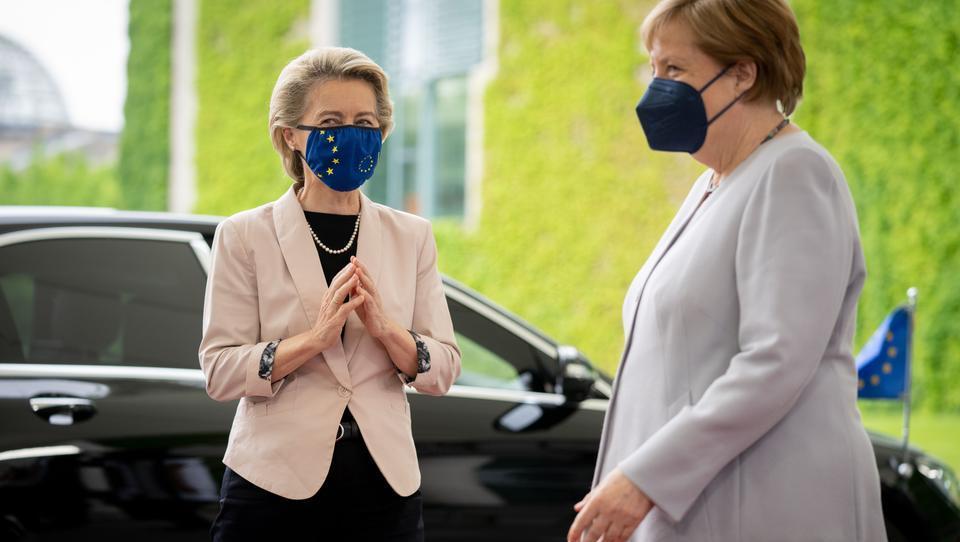 Merkel fordert neue Durchgriffsrechte für EU-Kommissare