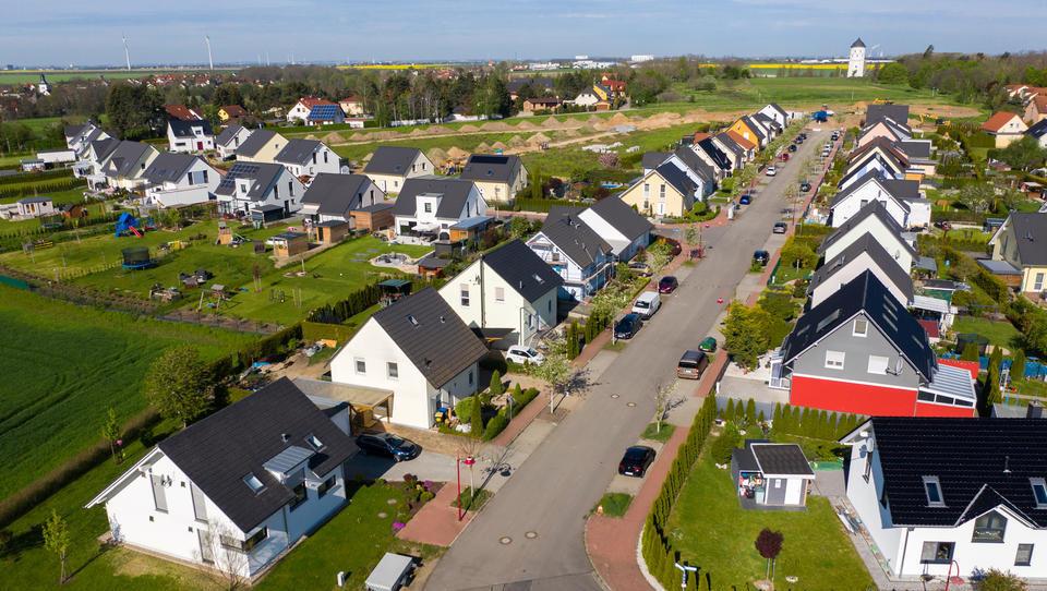 Rekordquartal: Deutlicher Preiszuwachs bei Einfamilienhäusern
