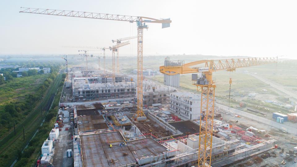 Deutschland: Baubranche machte im Mai gute Geschäfte
