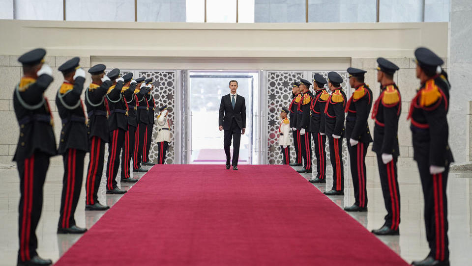 Syrien schließt sich Chinas Neuer Seidenstraße an