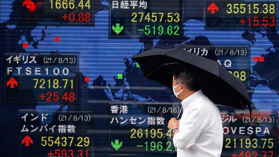 Deutliche Kursverluste an Asiens Börsen
