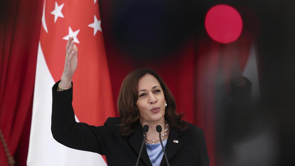 US-Vizepräsidentin Harris warnt vor Lieferengpässen bei Weihnachtsgeschenken