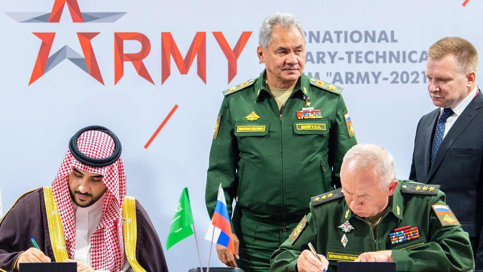 Saudi-Arabien schließt Militär-Abkommen mit Russland ab
