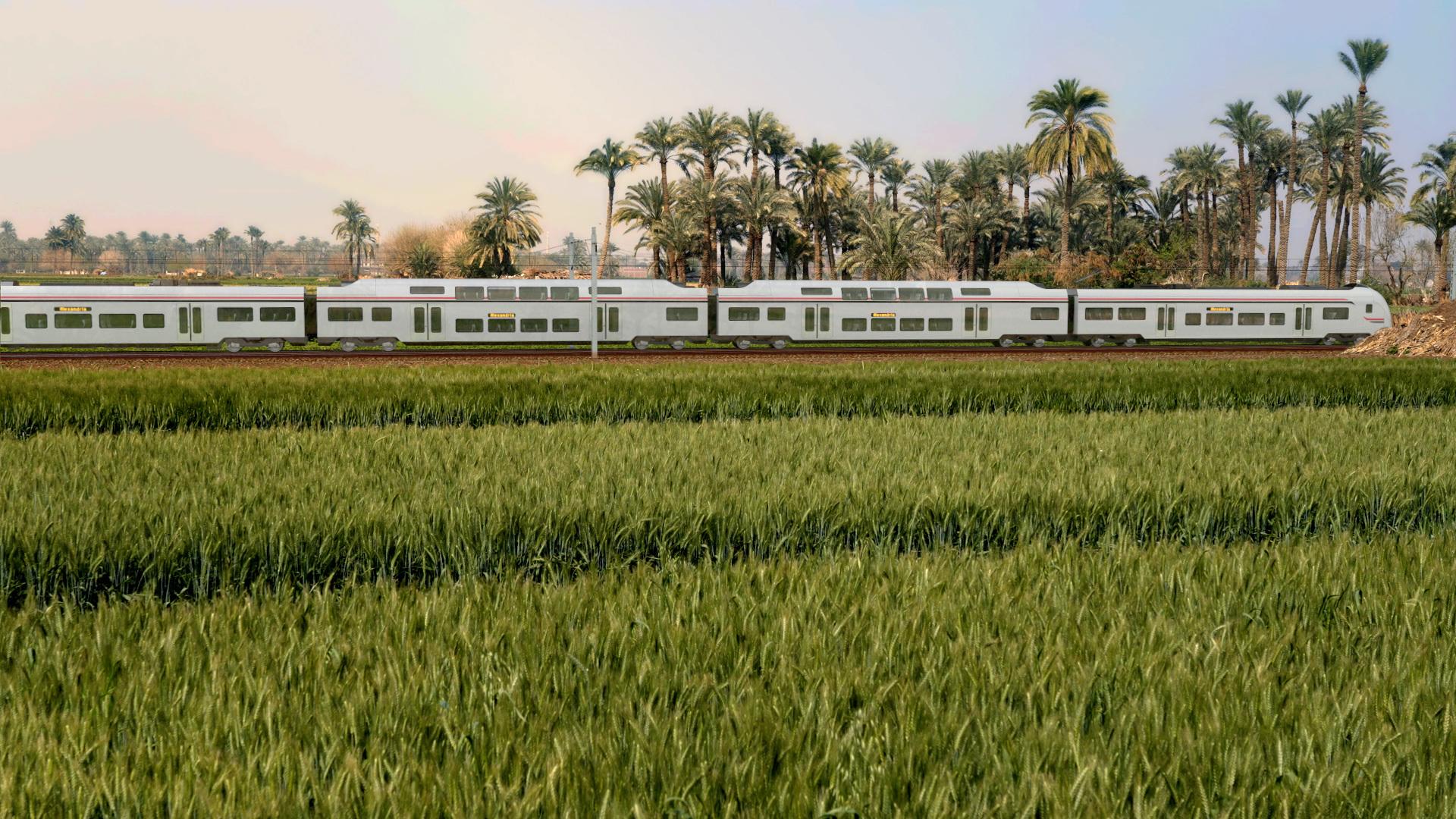 """Siemens baut in Ägypten """"Suez-Kanal auf Schienen"""""""