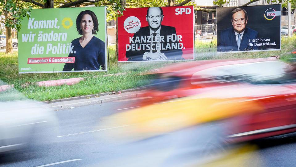 BUNDESTAGSWAHL-TICKER: Ganz knappes Rennen zwischen CDU und SPD