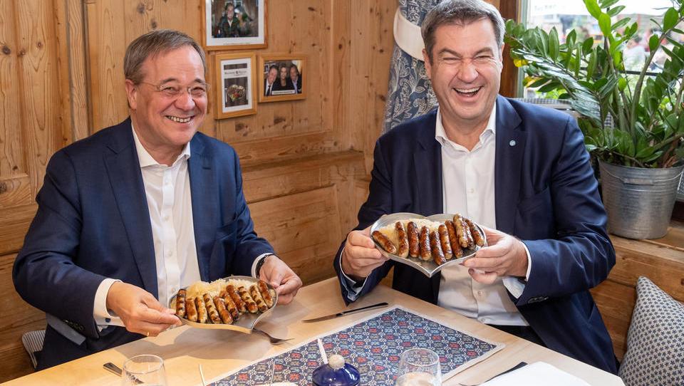 BUNDESTAGSWAHL: Ganz knappes Ergebnis - CDU derzeit vor SPD