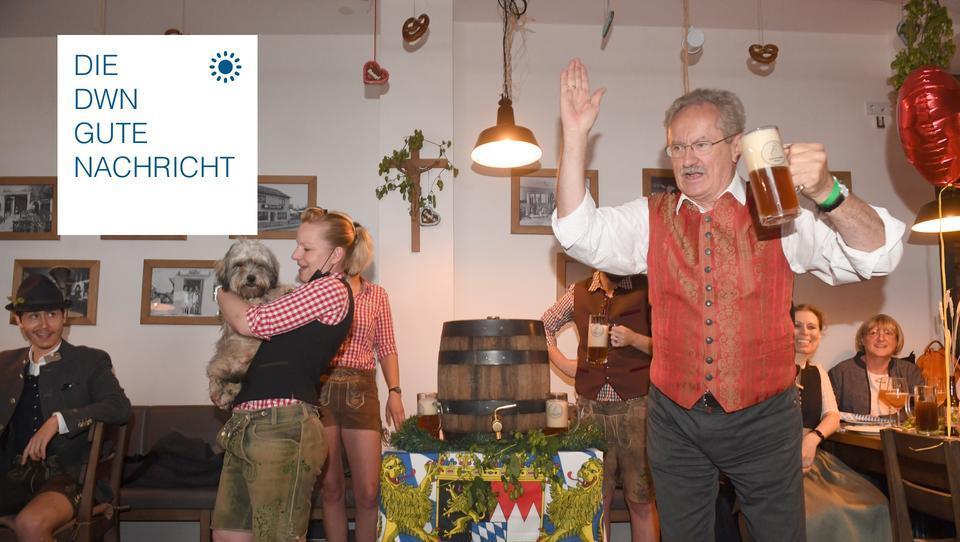 """Koa-Wiesn-Auftakt: """"Ozapft is"""" in Münchner Gaststätten"""