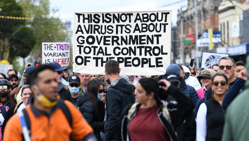 Australien: Proteste gegen Impfzwang und Lockdowns nehmen zu