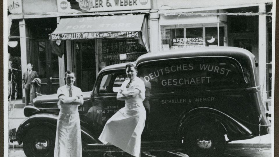 Seit 1937: Diese deutsche Metzgerei versorgt die New Yorker mit Schweinshaxe und Erbsenpüree