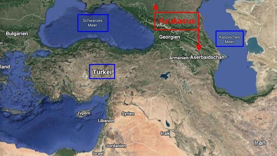 Ordnungsmacht oder Aggressor? Wie ihre geografische Lage die Türkei in ein politisches Dilemma zwingt