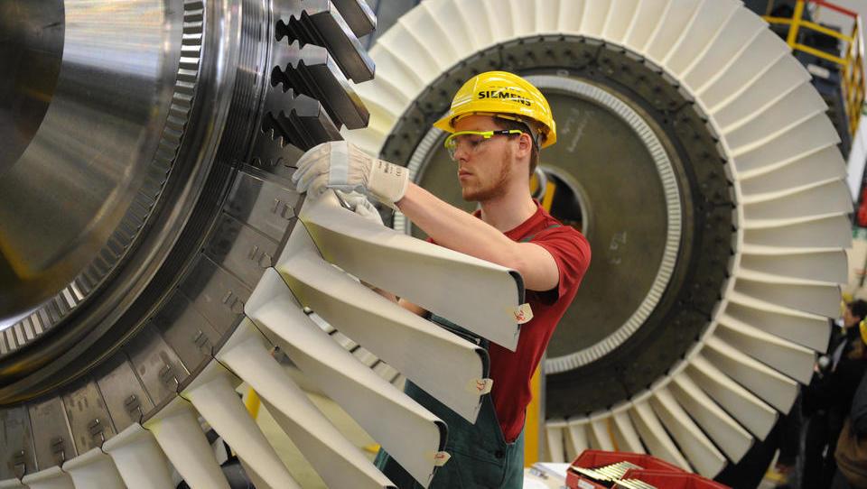 Siemens baut Gas-Turbinen für Kraftwerke in Iran und Russland