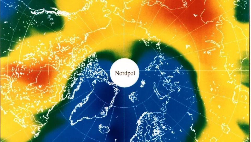 Ozonschicht in Gefahr: Klimawandel führt zu Ozonabbau über der Arktis