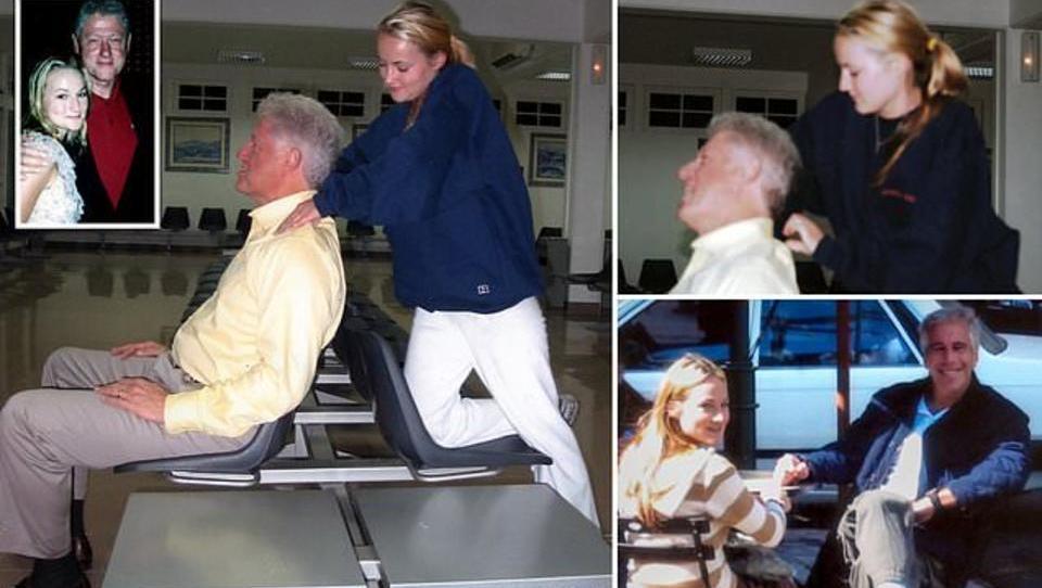 Neue Bilder von Clinton in Epstein-Affäre aufgetaucht