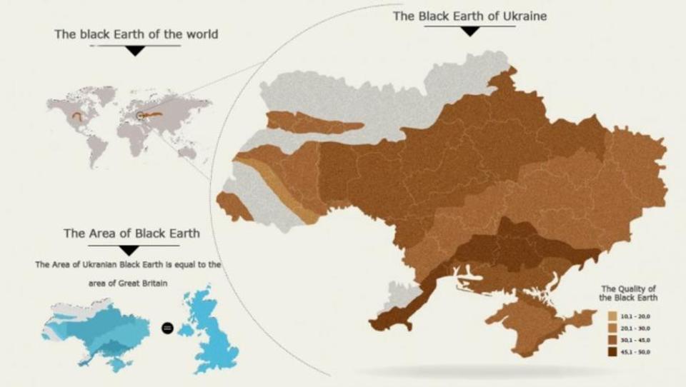 """Internationale Agrar-Konzerne wetteifern um fruchtbare """"Schwarzerde"""" der Ukraine"""