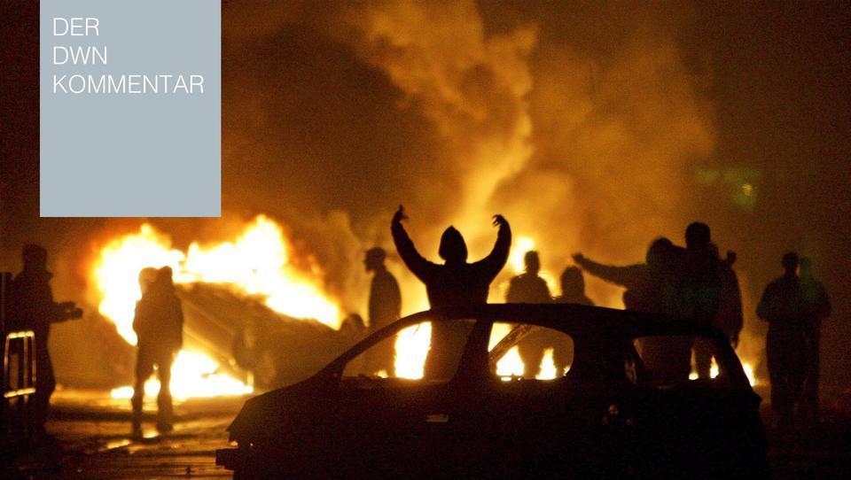 Wenn Le Pen Präsidentin werden sollte, werden Frankreichs Vorstädte brennen
