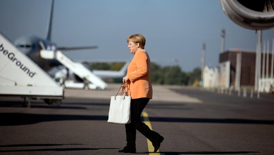Merkel reist zu Erdogan wegen neuer Flüchtlinge aus Syrien