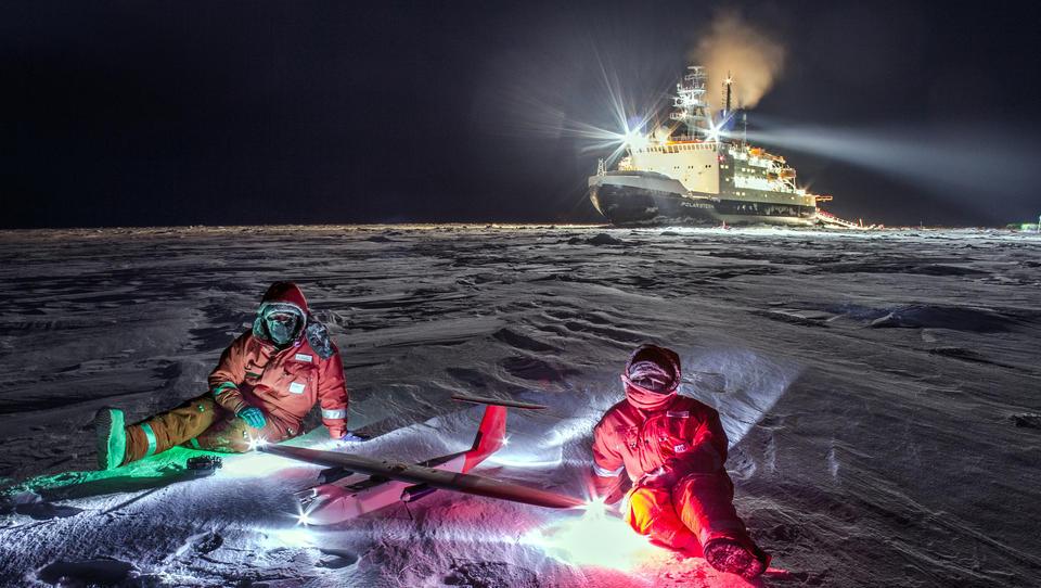 Rekordkalter Winter auf Südkontinent Antarktika