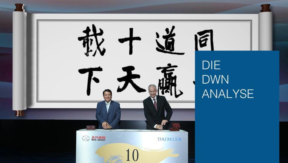 Quartalszahlen zeigen: Ohne China wären Deutschlands Konzerne kaum überlebensfähig