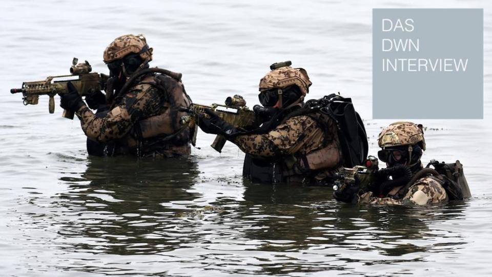 Inspekteur der Deutschen Marine: Um abzuschrecken, müssen wir kämpfen können